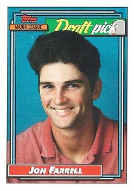 1992 Topps #9 Jon Farrell VG RC Rookie Pittsburgh Pirates