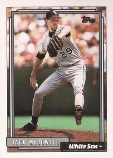 1992 Topps #11 Jack McDowell VG Chicago White Sox