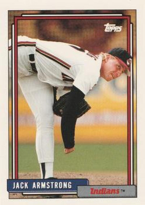 1992 Topps Traded #6T Jack Armstrong VG Cleveland Indians