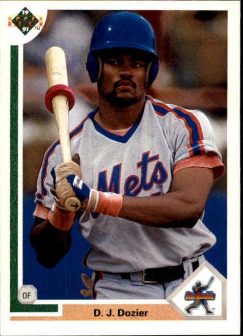 1991 Upper Deck #3 D.J. Dozier VG New York Mets