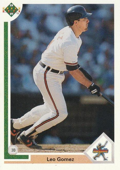 1991 Upper Deck #6 Leo Gomez VG Baltimore Orioles