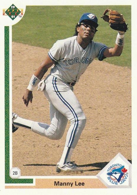1991 Upper Deck #142 Manuel Lee VG Toronto Blue Jays