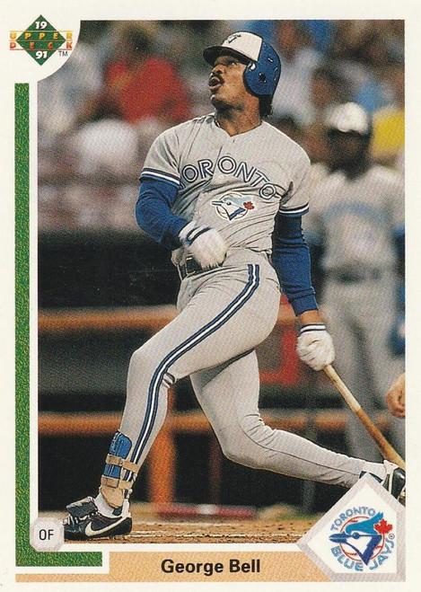1991 Upper Deck #532 George Bell VG Toronto Blue Jays