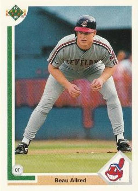 1991 Upper Deck #784 Beau Allred VG Cleveland Indians