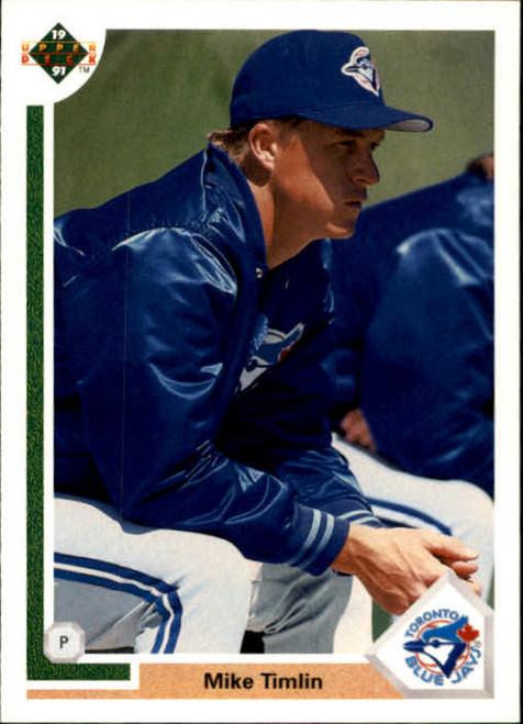 1991 Upper Deck #785 Mike Timlin VG RC Rookie Toronto Blue Jays