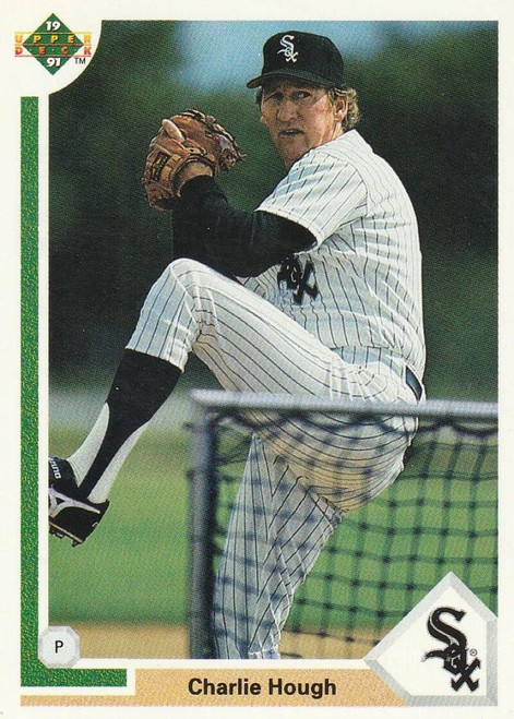 1991 Upper Deck #792 Charlie Hough VG Chicago White Sox