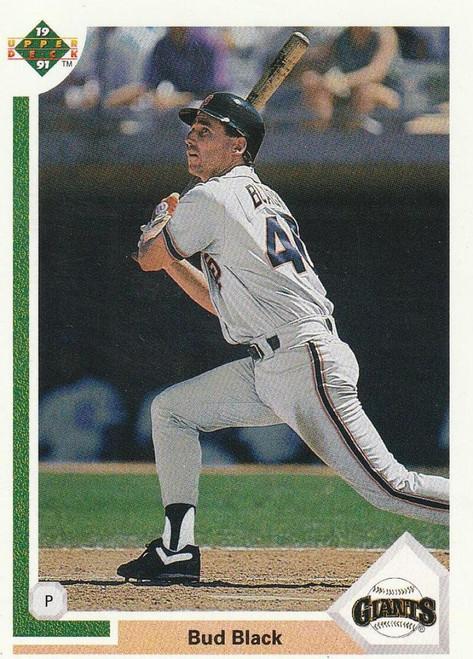 1991 Upper Deck #799 Bud Black VG San Francisco Giants