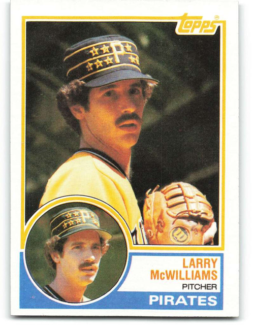1983 Topps #253 Larry McWilliams VG Pittsburgh Pirates