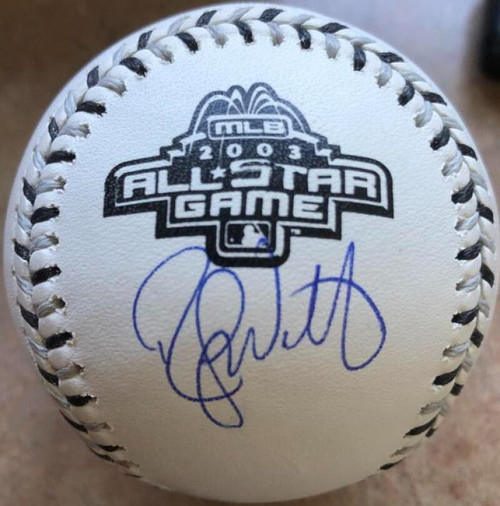 Randy Wolf Autographed 2003 All-Star Game Baseball