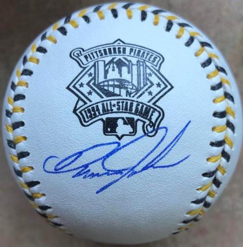 Danny Jackson Autographed 1994 All-Star Game Baseball