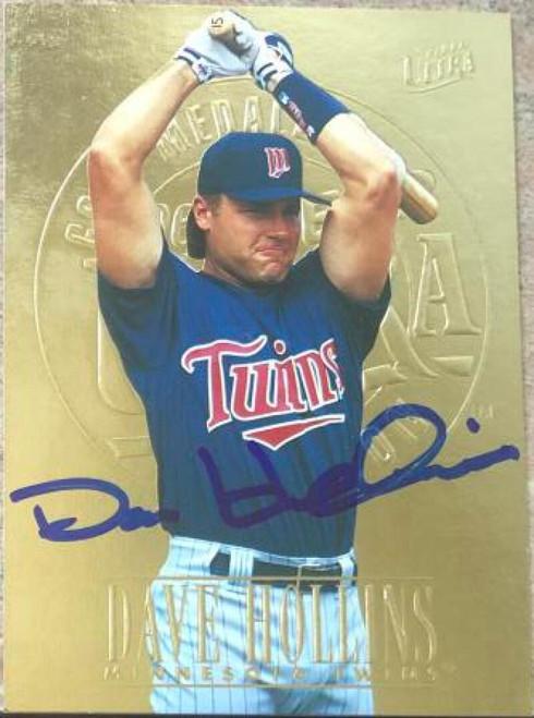 Dave Hollins Autographed 1996 Fleer Ultra Gold Medallion #374