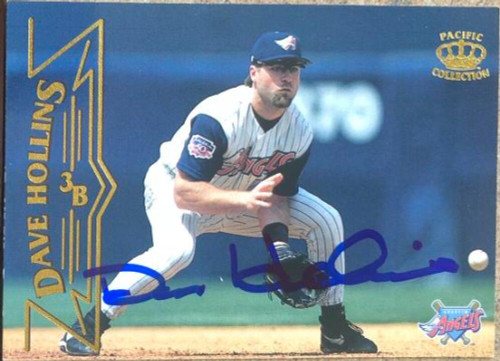 Dave Hollins Autographed 1998 Pacific #10