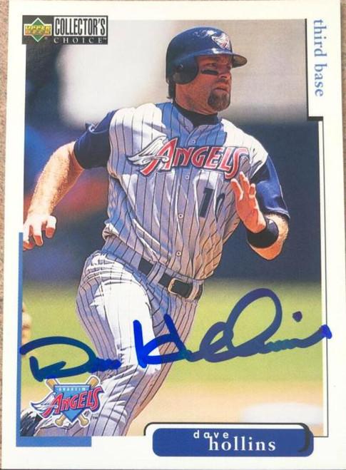 Dave Hollins Autographed 1998 Collectors Choice #29