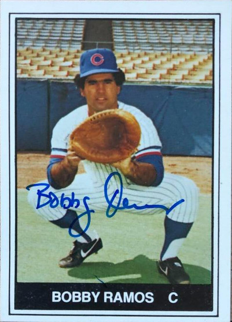 Bobby Ramos Autographed 1982 TCMA Columbus Clippers #18