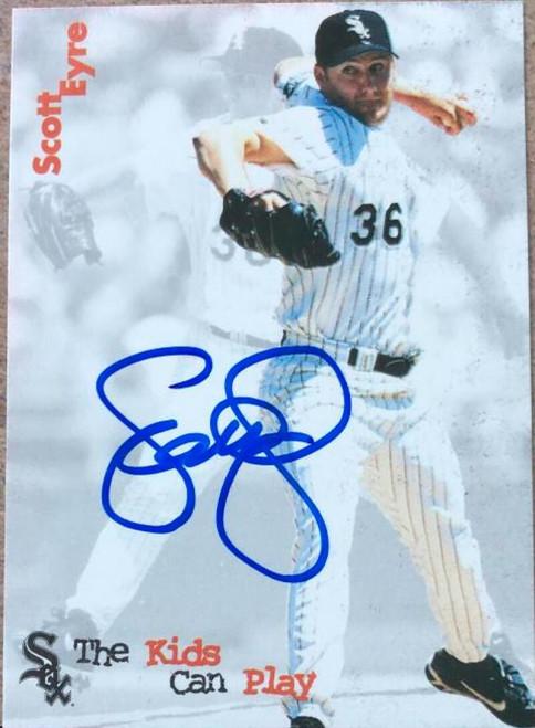 Scott Eyre Autographed 1999 Lemon Chill Chicago White Sox #23