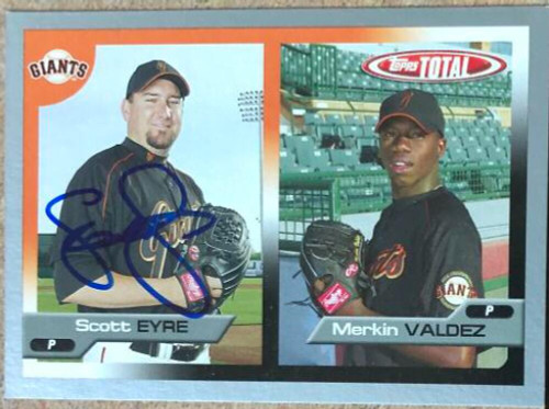 Scott Eyre Autographed 2004 Topps Total Silver #670