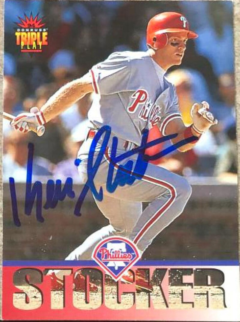 Kevin Stocker Autographed 1994 Triple Play #180