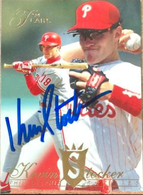 Kevin Stocker Autographed 1994 Flair #212