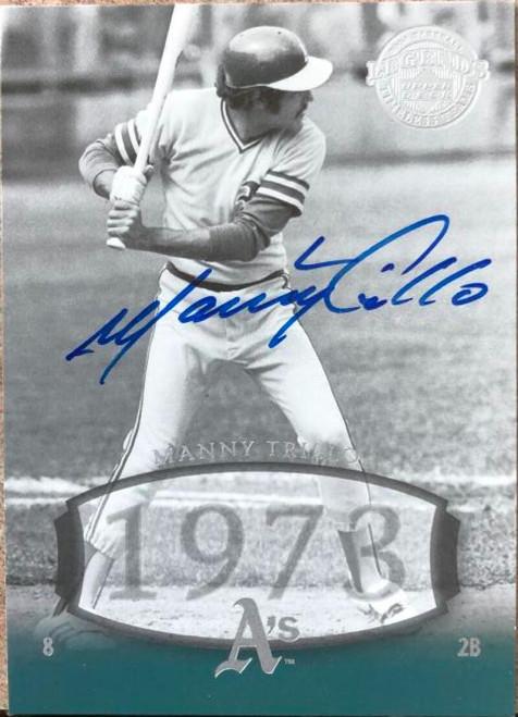 Manny Trillo Autographed 2004 Upper Deck Legends Timeless Teams #88