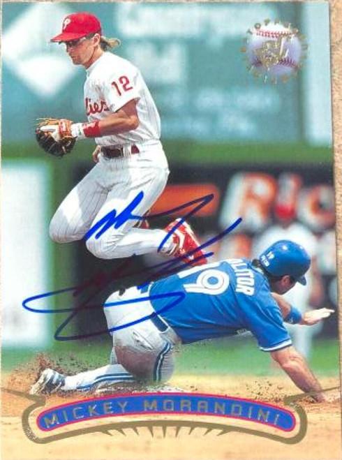 Mickey Morandini Autographed 1996 Stadium Club #139