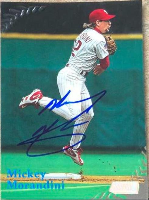 Mickey Morandini Autographed 1998 Stadium Club #133