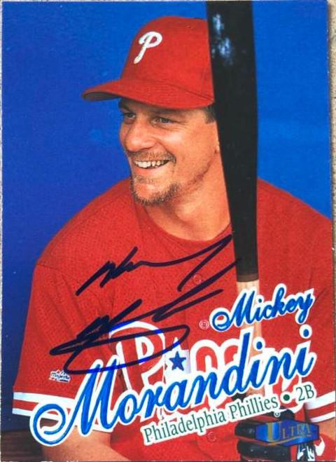 Mickey Morandini Autographed 1998 Fleer Ultra #138