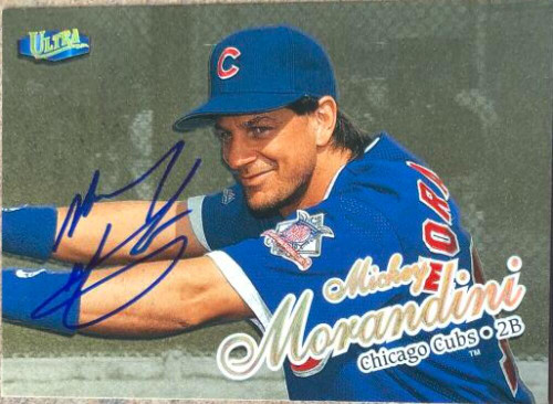 Mickey Morandini Autographed 1998 Fleer Ultra Gold Medallion #292G