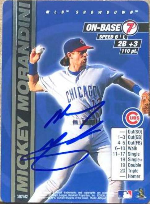 Mickey Morandini Autographed 2000 MLB Showdown 1st Edition #88