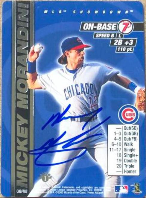 Mickey Morandini Autographed 2000 MLB Showdown Unlimited #88