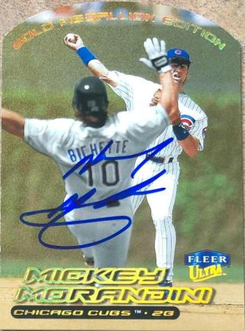 Mickey Morandini Autographed 2000 Fleer Ultra Gold Medallion #9G