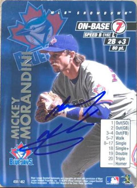 Mickey Morandini Autographed 2001 MLB Showdown Unlimited #459