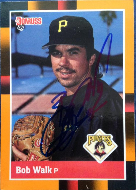 Bob Walk Autographed 1988 Donruss Best #269