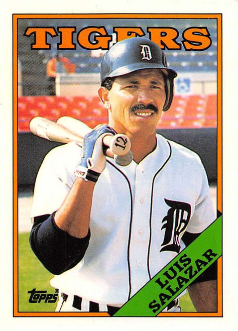 1988 Topps Traded #100T Luis Salazar NM-MT Detroit Tigers