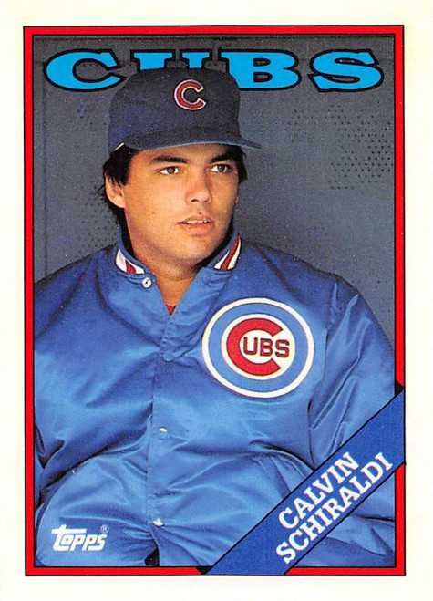 1988 Topps Traded #104T Calvin Schiraldi NM-MT Chicago Cubs