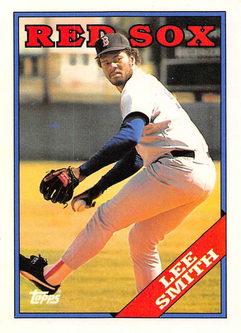 1988 Topps Traded #110T Lee Smith NM-MT Boston Red Sox
