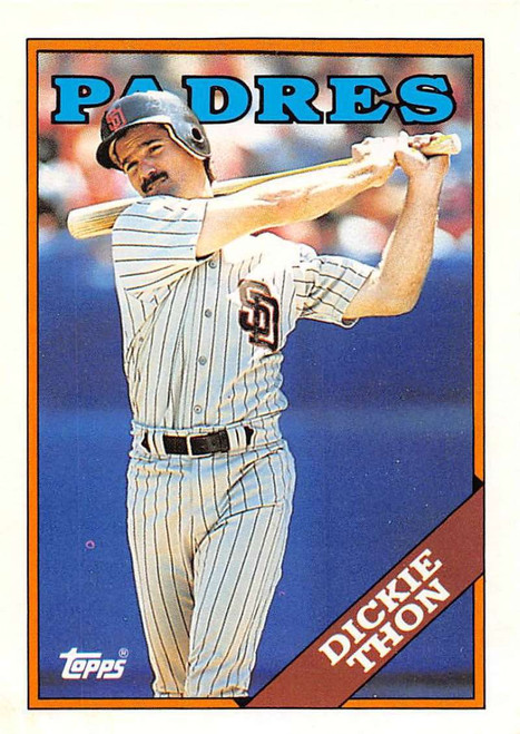 1988 Topps Traded #121T Dickie Thon NM-MT San Diego Padres