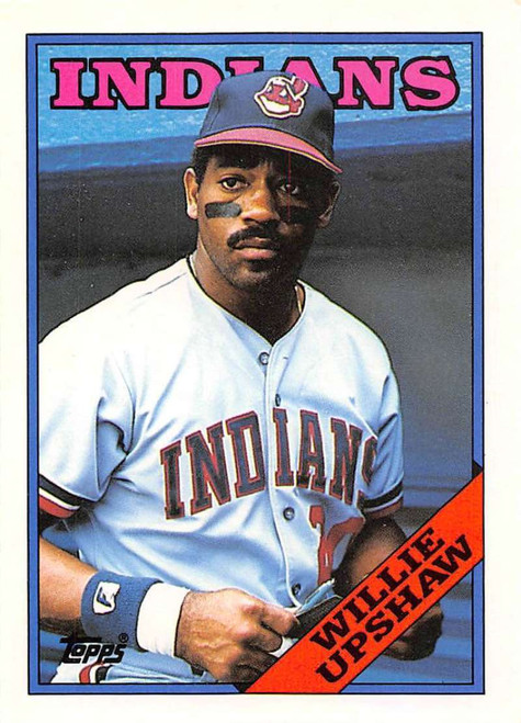 1988 Topps Traded #123T Willie Upshaw NM-MT Cleveland Indians