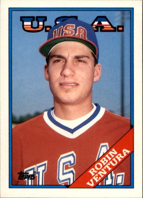 1988 Topps Traded #124T Robin Ventura OLY NM-MT RC Rookie USA