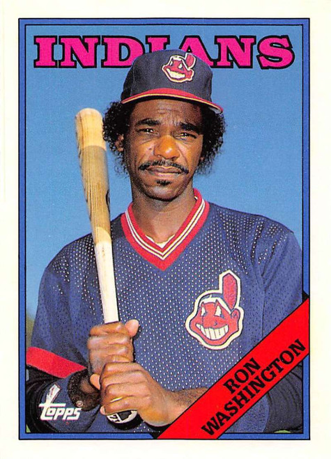 1988 Topps Traded #125T Ron Washington NM-MT Cleveland Indians