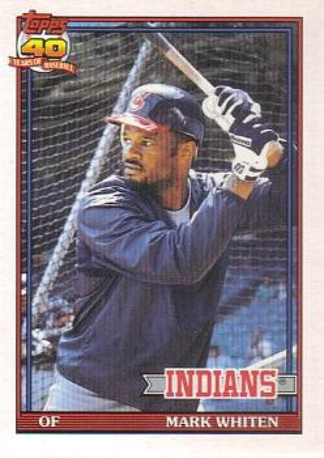 1991 Topps Traded #126T Mark Whiten NM-MT Cleveland Indians