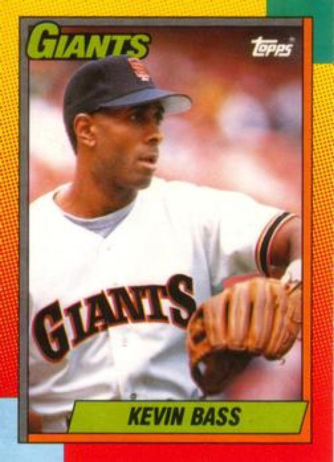 1990 Topps Traded #7T Kevin Bass NM-MT San Francisco Giants