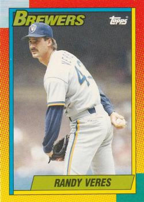 1990 Topps Traded #125T Randy Veres NM-MT Milwaukee Brewers