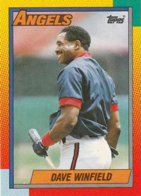 1990 Topps Traded #130T Dave Winfield NM-MT California Angels