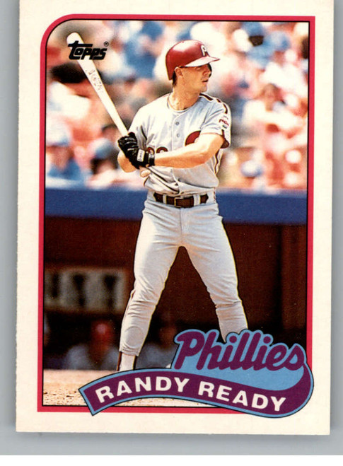 1989 Topps Traded #102T Randy Ready NM-MT Philadelphia Phillies