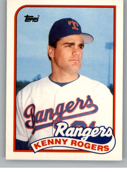 1989 Topps Traded #104T Kenny Rogers NM-MT RC Rookie Texas Rangers