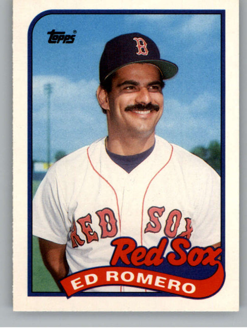 1989 Topps Traded #105T Ed Romero NM-MT Boston Red Sox