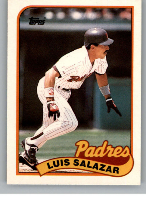 1989 Topps Traded #107T Luis Salazar NM-MT San Diego Padres