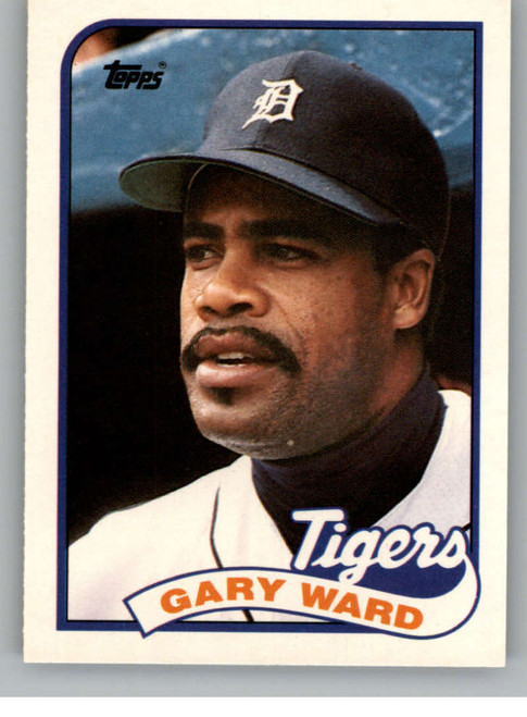 1989 Topps Traded #124T Gary Ward NM-MT Detroit Tigers