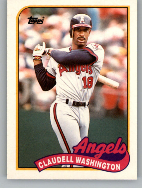 1989 Topps Traded #125T Claudell Washington NM-MT California Angels