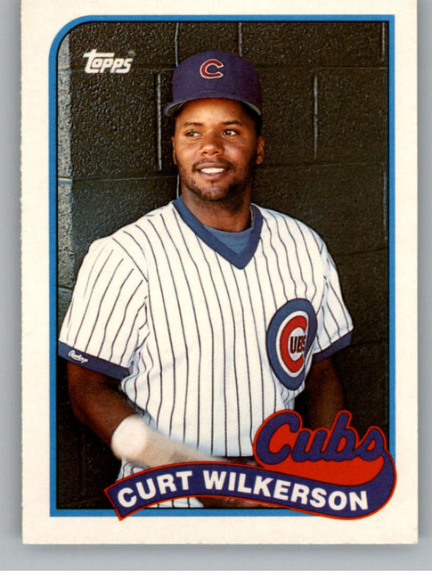 1989 Topps Traded #126T Curtis Wilkerson NM-MT Chicago Cubs